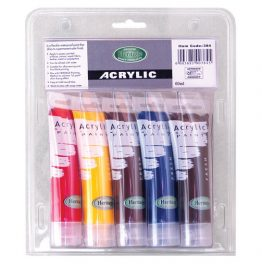 Acrylic Tube Paint Set 5 x 60ml-Artist's