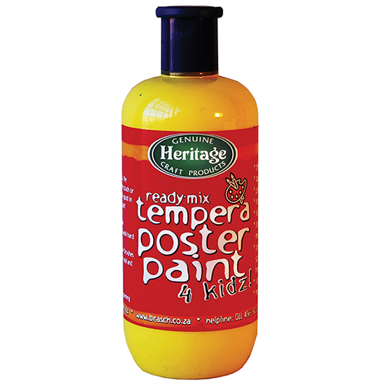 Tempera Poster Paint for Kids